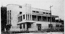 Sede do clube em 1943